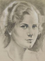 Image of [sketch of woman] - McCoy, Tom